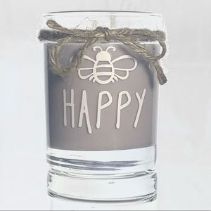 Bee Happy Lavender Candle